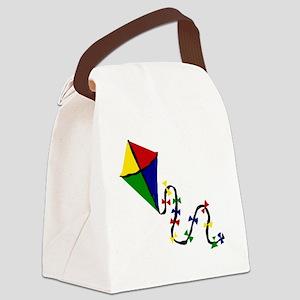 Kite Art Canvas Lunch Bag
