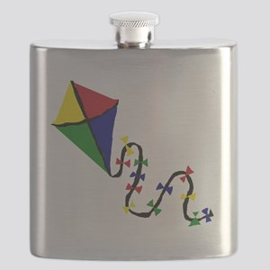 Kite Art Flask
