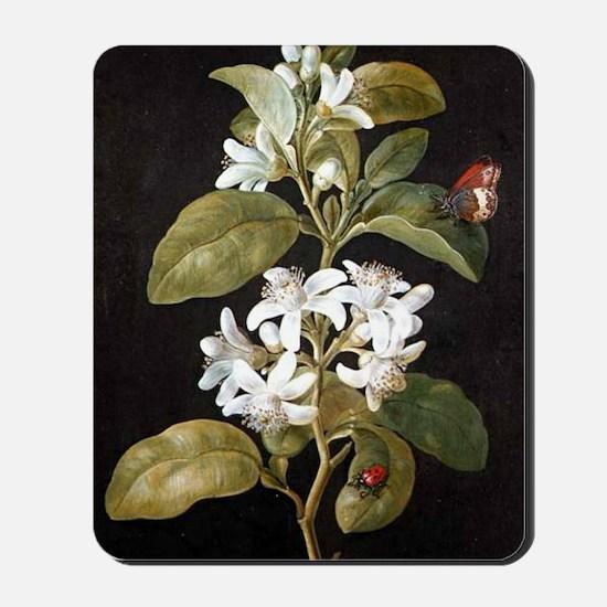 Pear Flower Mousepad