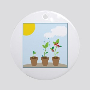 Seedlings Ornament (Round)