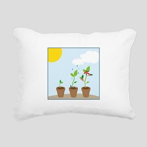 Seedlings Rectangular Canvas Pillow