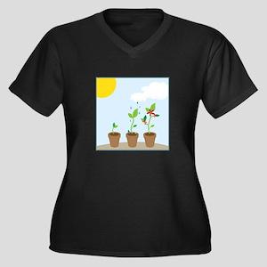 Seedlings Plus Size T-Shirt