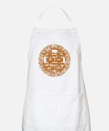 Vintage Double Happiness BBQ Apron