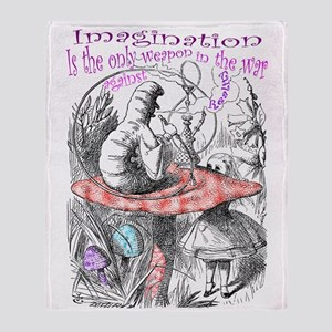 Imagination & Reality Throw Blanket