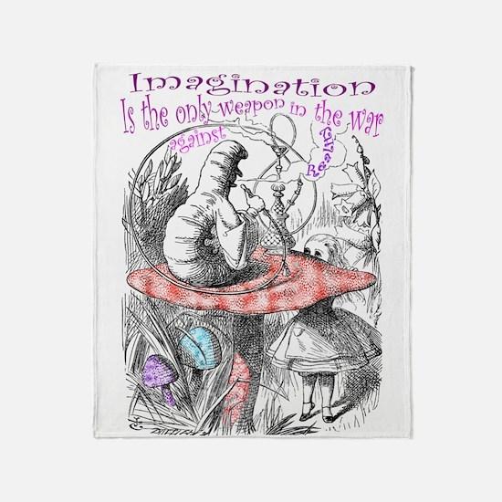 Imagination & Reality Throw Blanket