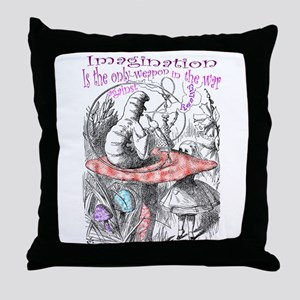 Imagination & Reality Throw Pillow