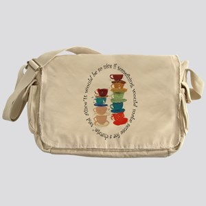 Its a Mad, Mad, Mad world, Alice Messenger Bag