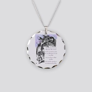 You're Mad Necklace Circle Charm