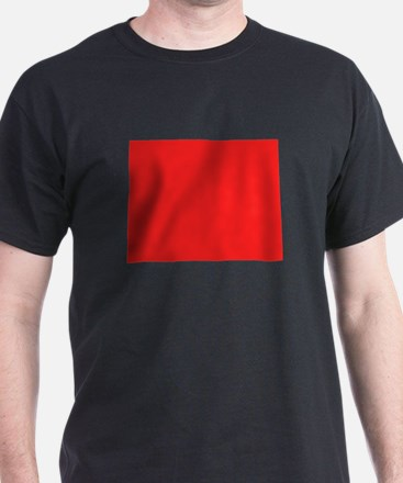Red Colorado Silhouette T-Shirt
