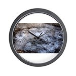 Ice figures Wall Clock