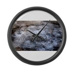Ice figures Large Wall Clock