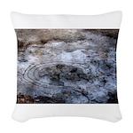 Ice figures Woven Throw Pillow