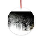 Moonlight sparkle Ornament (Round)