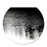 Moonlight sparkle Round Car Magnet