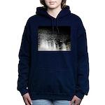Moonlight sparkle Women's Hooded Sweatshirt