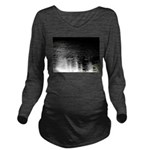 Moonlight sparkle Long Sleeve Maternity T-Shirt
