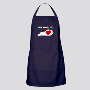 Custom Kentucky Heart Apron (dark)