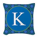 Sioux Snow Monogram Woven Throw Pillow
