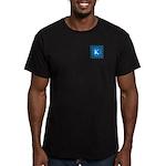 Sioux Snow Monogram Men's Fitted T-Shirt (dark)