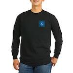 Sioux Snow Monogram Long Sleeve Dark T-Shirt