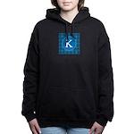 Sioux Snow Monogram Women's Hooded Sweatshirt