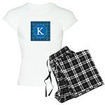 Sioux Snow Monogram Women's Light Pajamas
