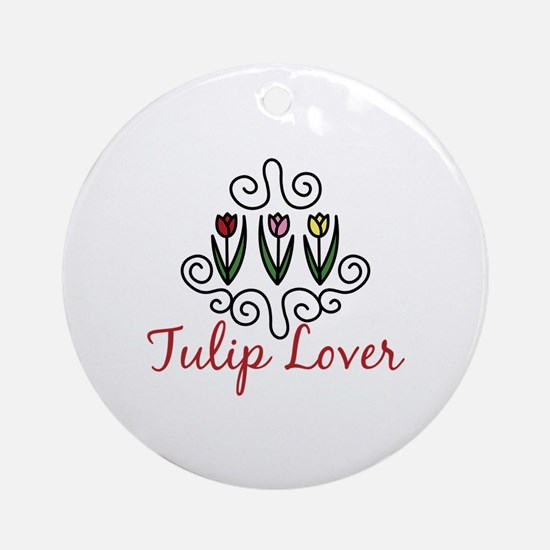 Tulip Lover Ornament (Round)