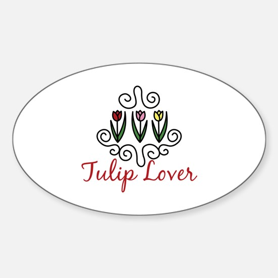 Tulip Lover Decal