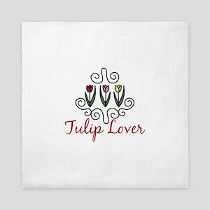 Tulip Lover Queen Duvet