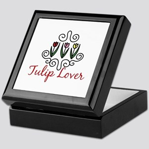 Tulip Lover Keepsake Box