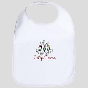 Tulip Lover Bib