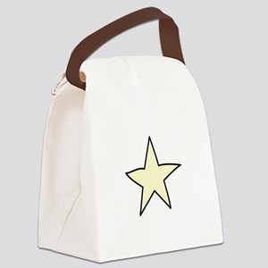 Star Canvas Lunch Bag