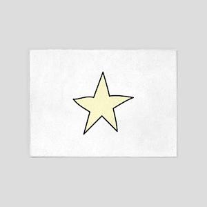 Star 5'x7'Area Rug