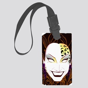 Panther Bianca Del Rio Large Luggage Tag