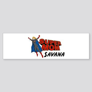 Supermom Savana Bumper Sticker