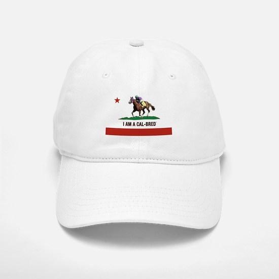 I AM A CAL-BRED with Logo Baseball Baseball Baseball Cap