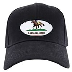 I AM A CAL-BRED with Logo Baseball Hat