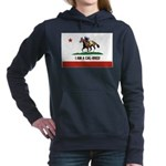 I AM A CAL-BRED with Logo Women's Hooded Sweatshir