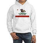 I AM A CAL-BRED with Logo Hoodie