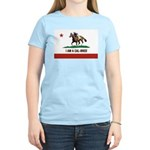 I AM A CAL-BRED with Logo T-Shirt