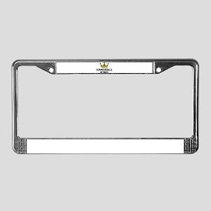 Handball king License Plate Frame