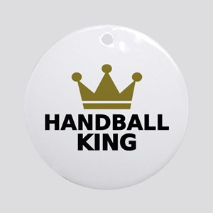 Handball king Ornament (Round)