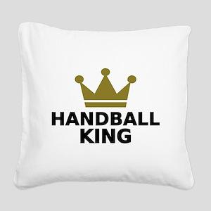 Handball king Square Canvas Pillow