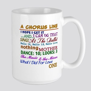 A Chorus Line The Songs Mugs
