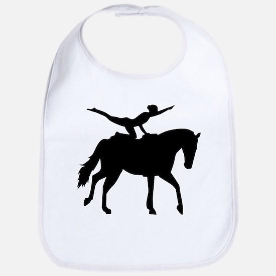 Vaulting horse Bib