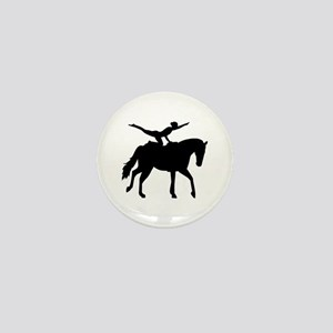 Vaulting horse Mini Button