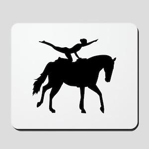 Vaulting horse Mousepad