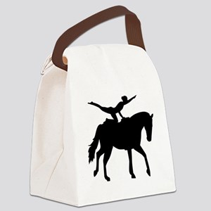 Vaulting horse Canvas Lunch Bag