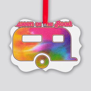 Queen of the road hitch  Picture Ornament