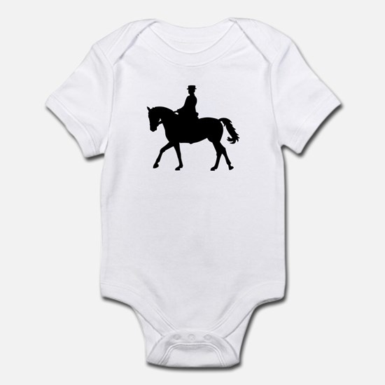 Riding dressage Infant Bodysuit
